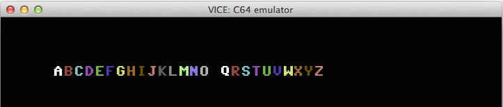 How to implement smooth full-screen scrolling on c64