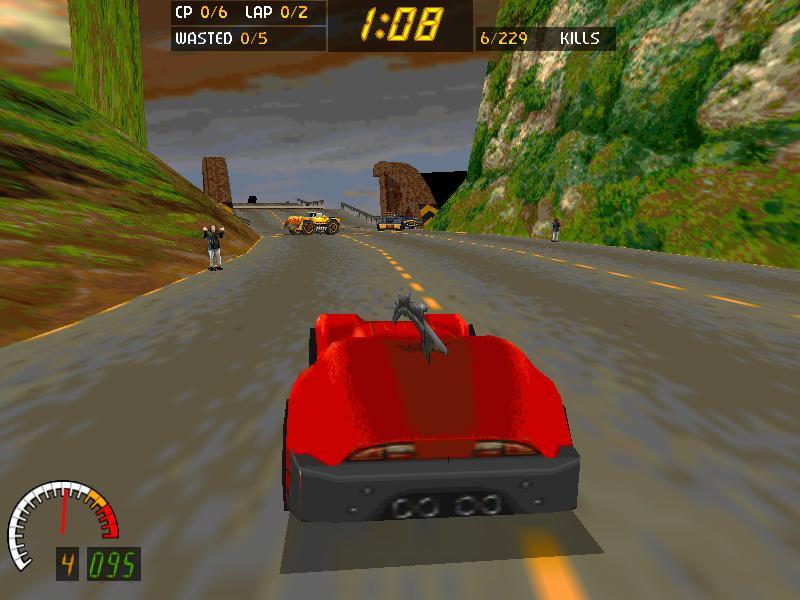 OpenC1 (a Carmageddon remake)