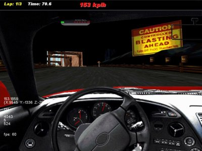OpenNFS1 (a Need for Speed 1 remake)